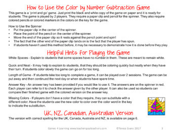 Free Subtraction Color by Number Game