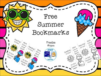 Free Summer Bookmarks