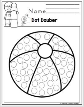Free Summer Dot Dauber Fun