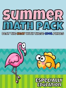 Free Summer Math Pack