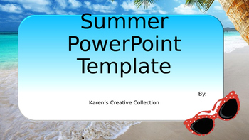 Free summer powerpoint template by growing giggles tpt free summer powerpoint template toneelgroepblik Choice Image
