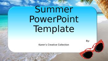 Free Summer PowerPoint Template