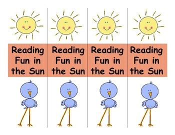 Free Summer Reading Bookmark
