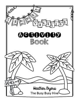 Free Summer Vacation Activity Book