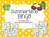 Free Summertime Bingo