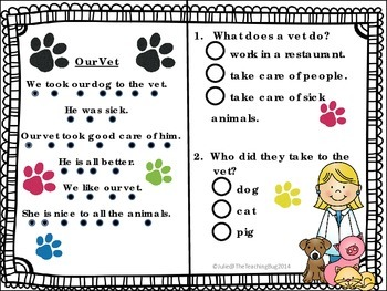 Free Super Comprehension Pack in a Snap -Pre-K/Kindergarten