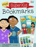 Free SuperKids Superhero Mini Bookmarks