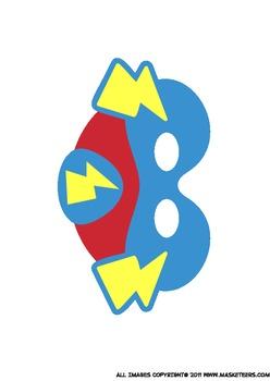 Free Superhero Masks