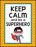 Superhero Classroom Poster - Free Downloads