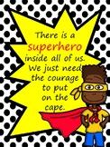 Free Superhero Poster