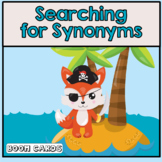 Free Synonyms | Boom Cards | Speech therapy | ELA | ELS