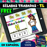 Free - TL Blend Syllables in Spanish - Sílabas Trabadas TL