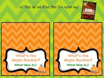 Free Tags Halloween Candy Tags Guessing Game By Kristen Richardson