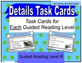 {Free} Task Cards Organized By Guided Reading/Lexile Level