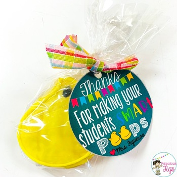Free Teacher Appreciation Gift Tags