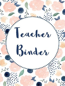 photo regarding Teacher Binder Printables named Free of charge Trainer Binder Printable