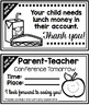 Free Teacher Handouts for Back to School (Preview)