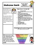 Free Teacher Support Newsletter Template