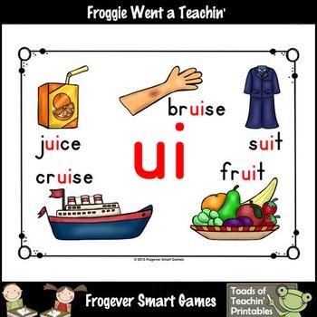 Vowel Team Posters--Look,Listen,Learn Long U Vowel Team /ui/