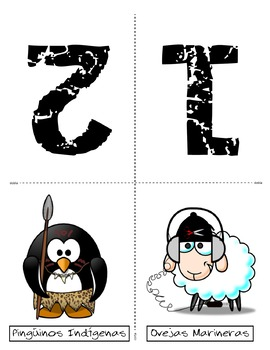 Free Team Cards in Spanish for any activity. Sheep Vs. Penguins!