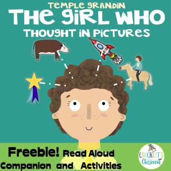 Free Temple Grandin Companion Activities for Read Aloud and Literacy Centers