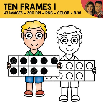 Digital Graphics - Free Ten Frame Clipart