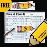 Free Ten Frames Math Center Activity