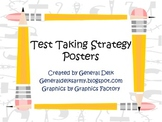 Free Test Taking Strategy Posters