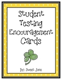 Free Testing Encouragement Cards - Good Luck