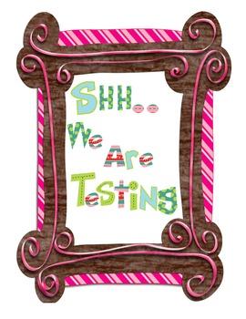Free Testing Sign