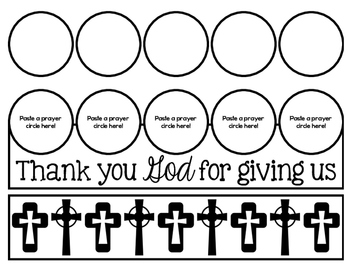 Free!  Thank You God Prayer Crowns craft