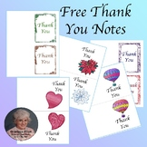 Free Thank You Note Cards