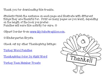 {Free} Thankful Book