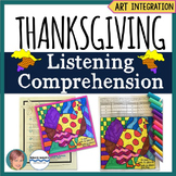 Free Thanksgiving Activity:  Listening Comprehension and A