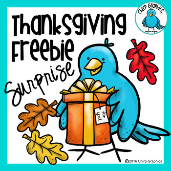 Free Thanksgiving Clip Art - Chirp Graphics