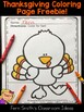 Thanksgiving Color By Code Color Words Printable and Coloring Page Freebie