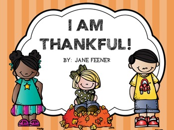 Thanksgiving activity free -I am thankful statements