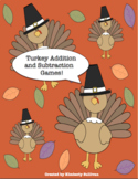 Free Downloads Thanksgiving Math Games! Addition and Subtr