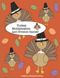 Free Downloads Thanksgiving Math Games! Multiplication and
