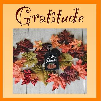 Free Thanksgiving Poster for Gratitude