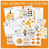 Free Thanksgiving Printable Preschool Activity Pack