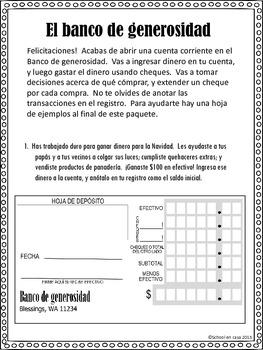 {Free} The Bank of Generosity ~ El Banco de Generosidad {Dual Immersion}