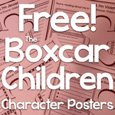 Free!  The Boxcar Children Character Posters