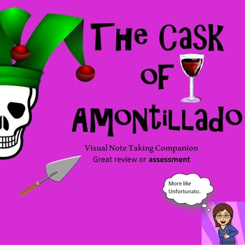 Free The Cask Of Amontillado: Visual Note Taking Companion