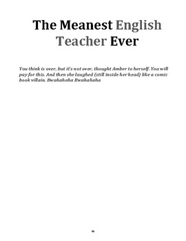 The Meanest English Teacher Ever (Short Story with Questions)