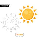 Free The Sun Clip Art