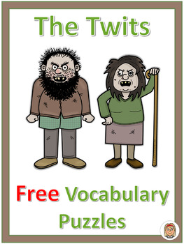 Free! The Twits - Vocabulary Puzzles