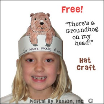 "Free ""There's a Groundhog on My Head!"" Hat Pattern"