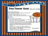 Free Throw Money Matching Game (played like Go Fish!)