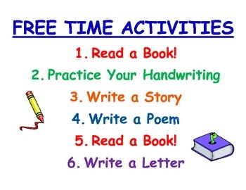 Free Time Activities